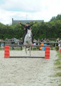 spectacle equestre obstacle normandie