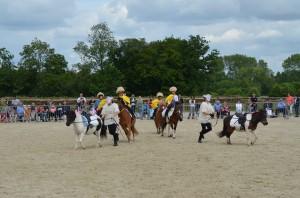 spectacle fin d'année equitation