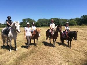 stage vacances poney randonnée normandie